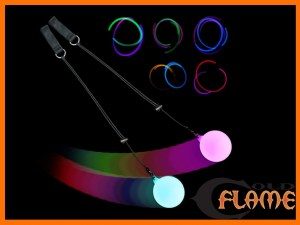 Slow Fade LED Glow Poi1