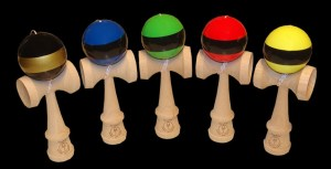 Kendama Sunrise stripes schwarz